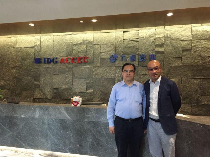 纳川股份董事,万润新能源董事长凌玉章先生到访公司
